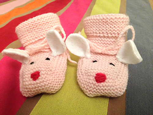 chaussons-roses